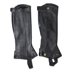 Euro Sport Pro-RIDER Leather Half Chaps - CHILDS