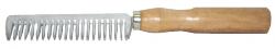 Wooden Handle Alum Comb