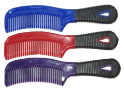 Plastic Comb with grip handle