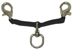 Lunge Converter Strap/ Double Clips