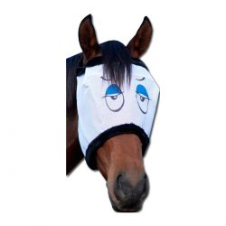 Fly Mask with Eyes