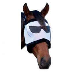 Fly Mask with sunglasses