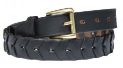Ladies Leather Laced Belt