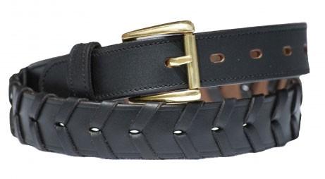 Ladies Leather Laced Belt
