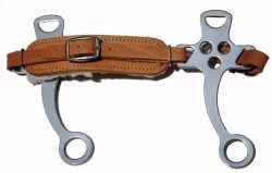 Fleece Nose Hackamore - Leather (one size)