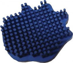 Rubber Curry Comb - Love & Care SMALL Bristle