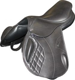 Harry Dabbs Platinum Mono Jump Saddle