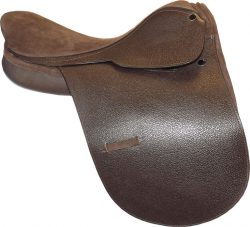 Ascot Polo Saddle Leather - Brown 18""