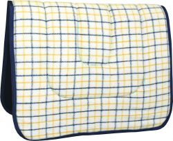 Wool Saddlecloth - Australian Check