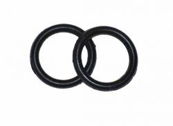 Peacock Iron Rubber Ring Pair (replacement)