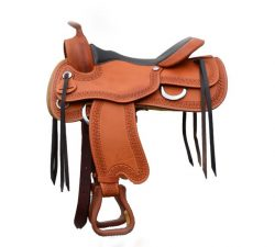 Syd Hill Treeless Western Saddle